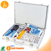 Network Tool Case for Crimp Punch Strip Test