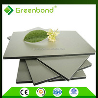 Greenbond building materials with adhesive film aluminum composite panel for facade of houses