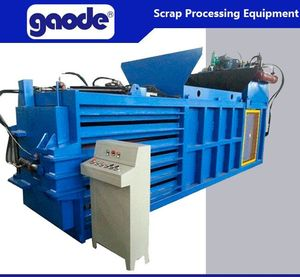 Horizontal Hydraulic Cotton Wool Baler Machine China Supplier