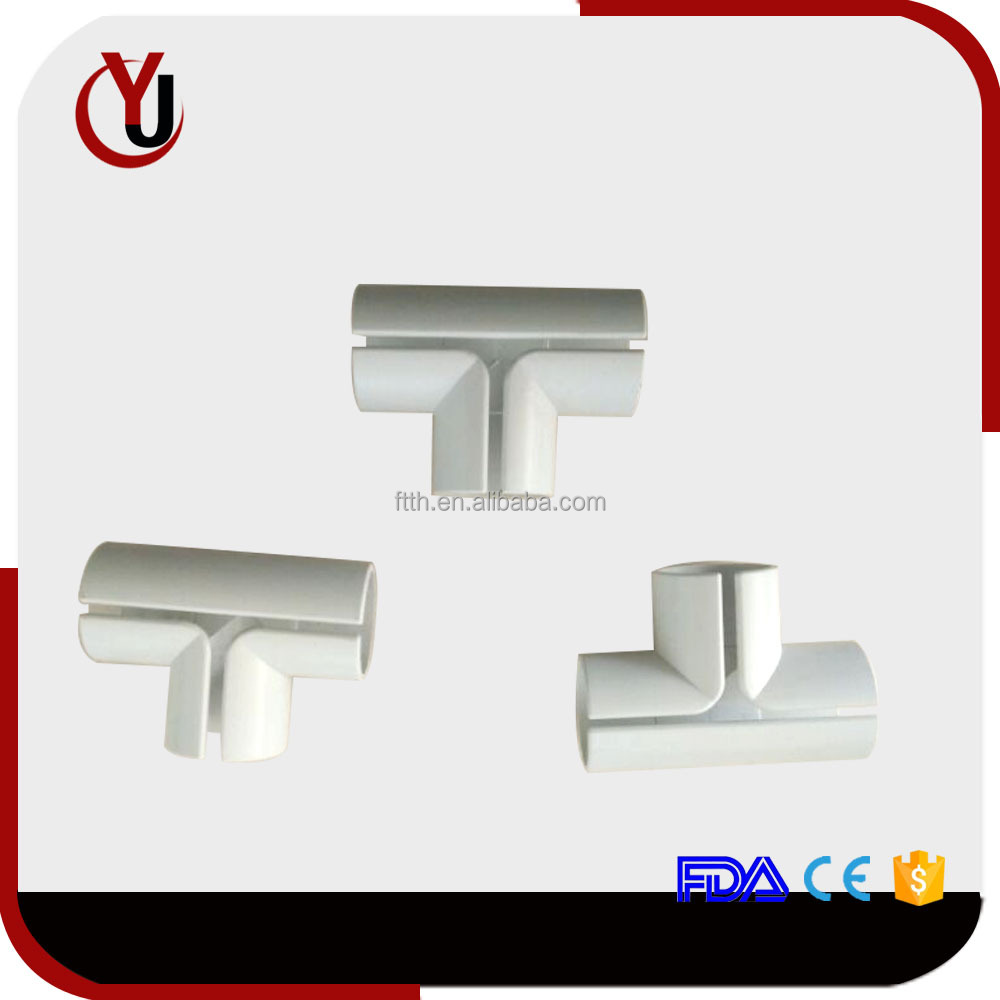 FTTH tee joint pipe tube pipe fittings