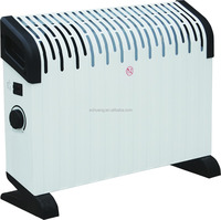750/1250/2000W adjustable thermostat heater convector