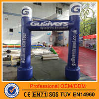 Top quality competitive price PVC material inflatable arch for sales