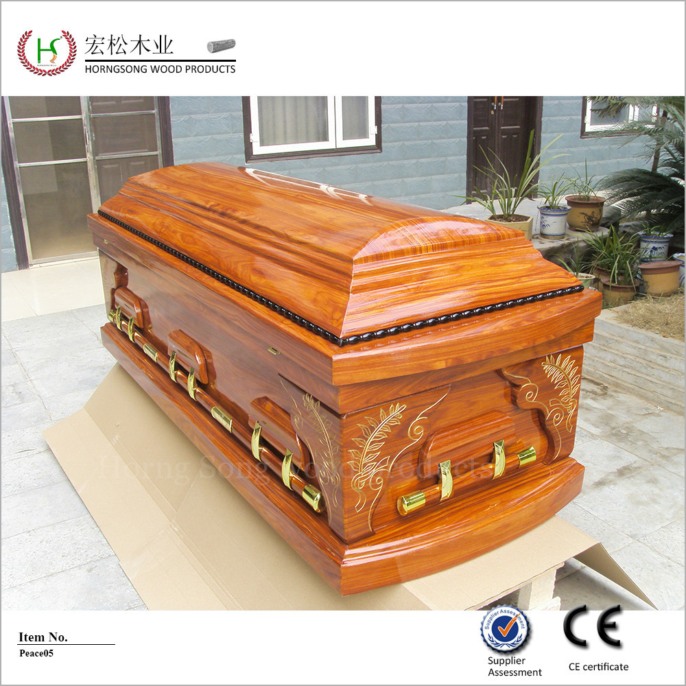 Wholesale recommended cheap wood casket interiors fabrics