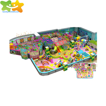Sweety children playground equipment indoor playroom equipment