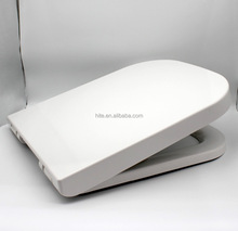 Square UF soft close slow down duroplast toilet seat cover