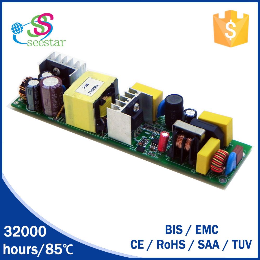 China supplier output 30-35v constant current 70w 80w led bulb driver switching power supply