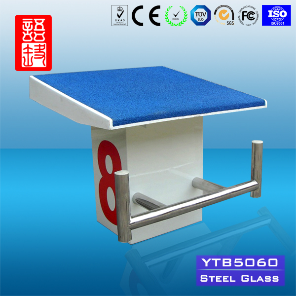 Kampuchea Competition Swimming Pool Starting Block For Sale