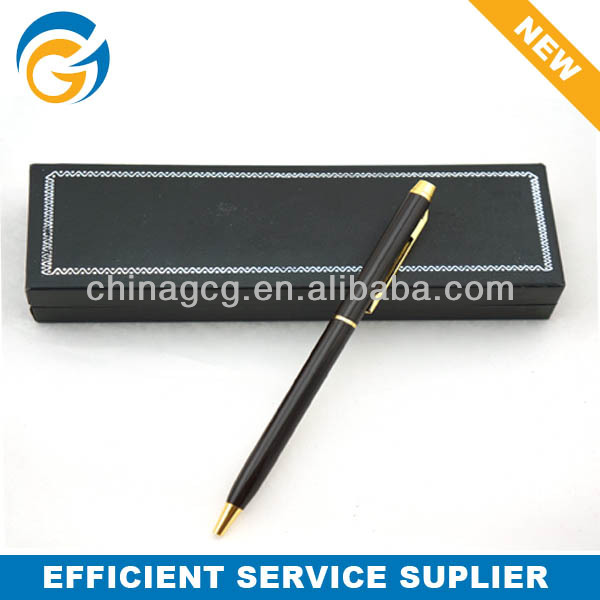 Simple Slim Office Style Metal Ball Pen