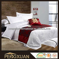 50% cotton 50% polyester bedding sheet set