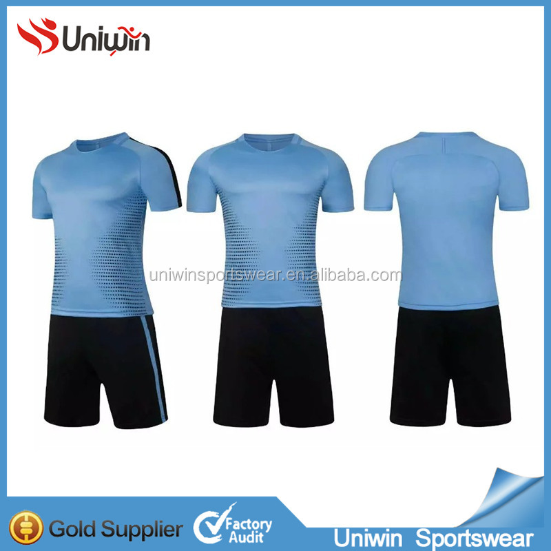 Full sublimation used soccer kits cheap wholesale soccer jersey plain design