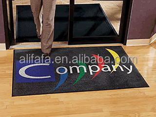 Commercial Entrance Custom Inkjet Printed Floor Mats with Logo