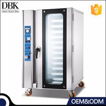 Gas / Electric bakery pizza oven Convection oven for bread with 12 Pan