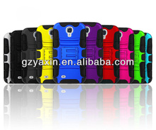 Shock proof case cover for samsung galaxy s4 i9500,silicone+PC case for Samsung Galaxy S4 i9500,hard case for S4