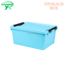20L wholesale plastic keyway storage boxes household storage container with lid