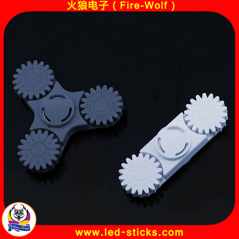Fire-Wolf advertising spinner toy manufacturers ABS gear hand spinner Mini hand spinner toys