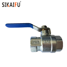 Serviceable manual 1pc stainless steel wafer type ball valve for water with long life