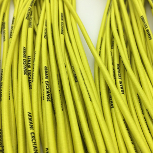 Custom printed cellulose acetate shoelace tipping film