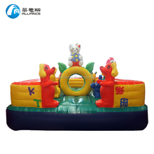 hello kitty jumping bouncer shopping center game for kids