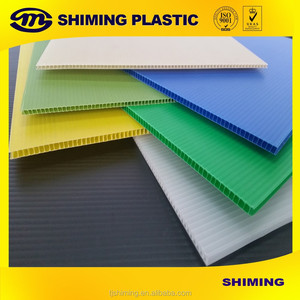 PP corrugated Plastic hollow board/PP coroplast sheet/PP corrugated sheet