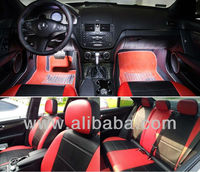 FULL COVERED MIX LEATHERETTE &SYNTHETIC CAR SEAT COVERS