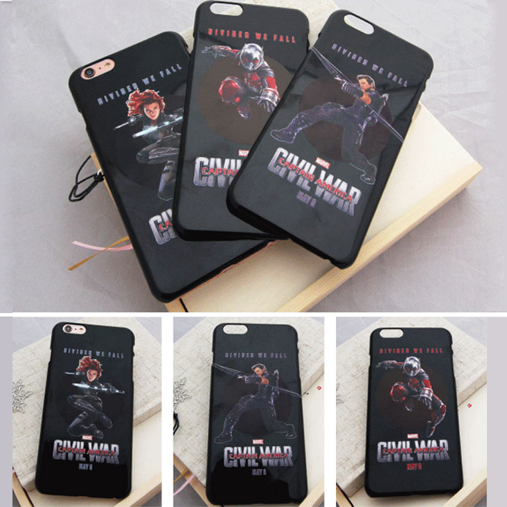 Captain America Phone cases for apple iphone 5 5s 5c se phone shell DIYsoft TPU Phone Transparent cover Protector