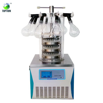 TOPT-10 series Mini Benchtop Vacuum Freeze Dryer (CE) for home /lab