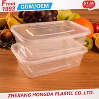 plastic food container restaurant