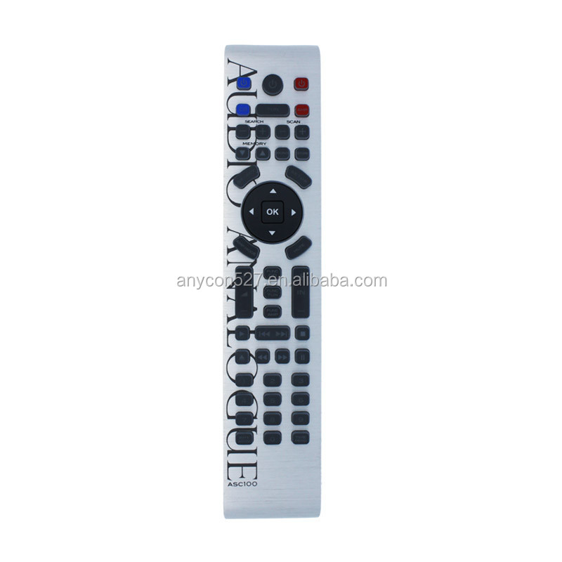 Infrared remote aluminum universal use for aiwa tv remote control
