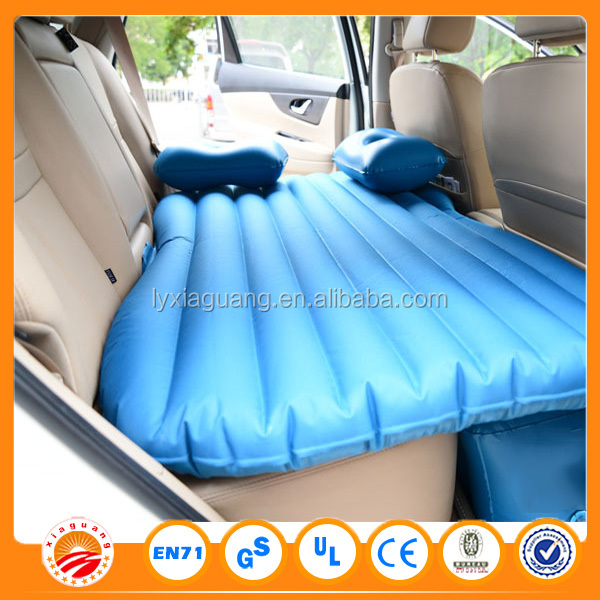 King size round mattress inflatable car bed for back seat for children