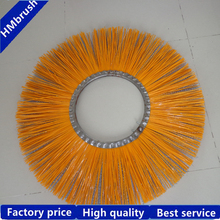 Steel wire&Poly filaments sweeper broom brushes