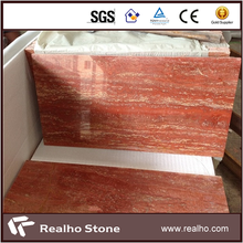 60x30 Persian Red Travertine Marble Tile For Wall