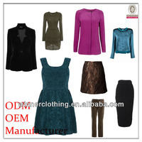 Clothing brands suppliers china women's junior apparel
