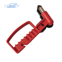 Various colors available environmental protection material bus safety hammer