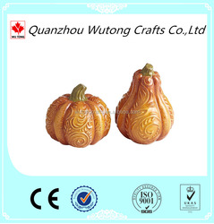 Wholesale Indoor Decorative Resin Halloween Pumpkin
