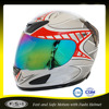 White shell ABS visor helmet stylish motorcycle helmet for sale