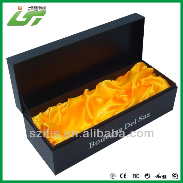 China wholesale custom paper packaging box for wine bottle carrier