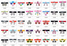 Wholesale 8mm Alloy charms slider charms for 8mm bracelet