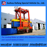 Container Straddle Carrier, Overhead Crane