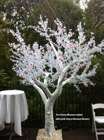 WEFOUND 3m white led cherry blossom tree light wedding decoration