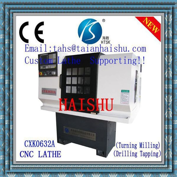 China Cnc Lathe Machine 3-axis cnc machine not used cnc machines hard disk backup