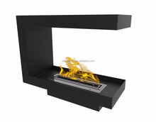 900mm 3 Sided Opening Insert Electric Ethanol Fireplace