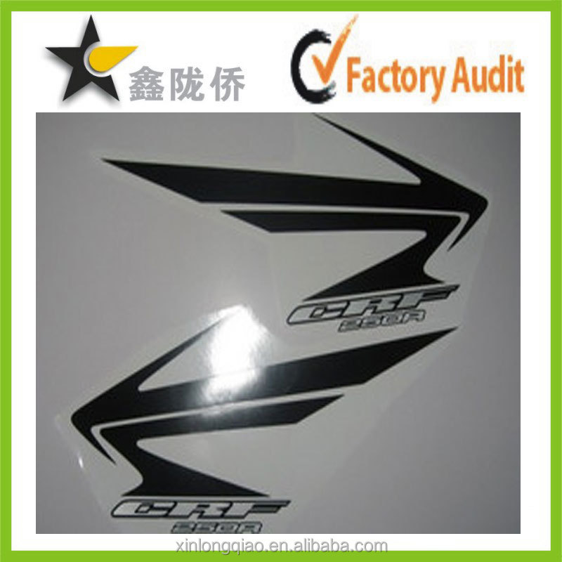 Fashion vinyl sticker design for motorcycle , 3D motorcycle sticker , motorcycle decal stickers