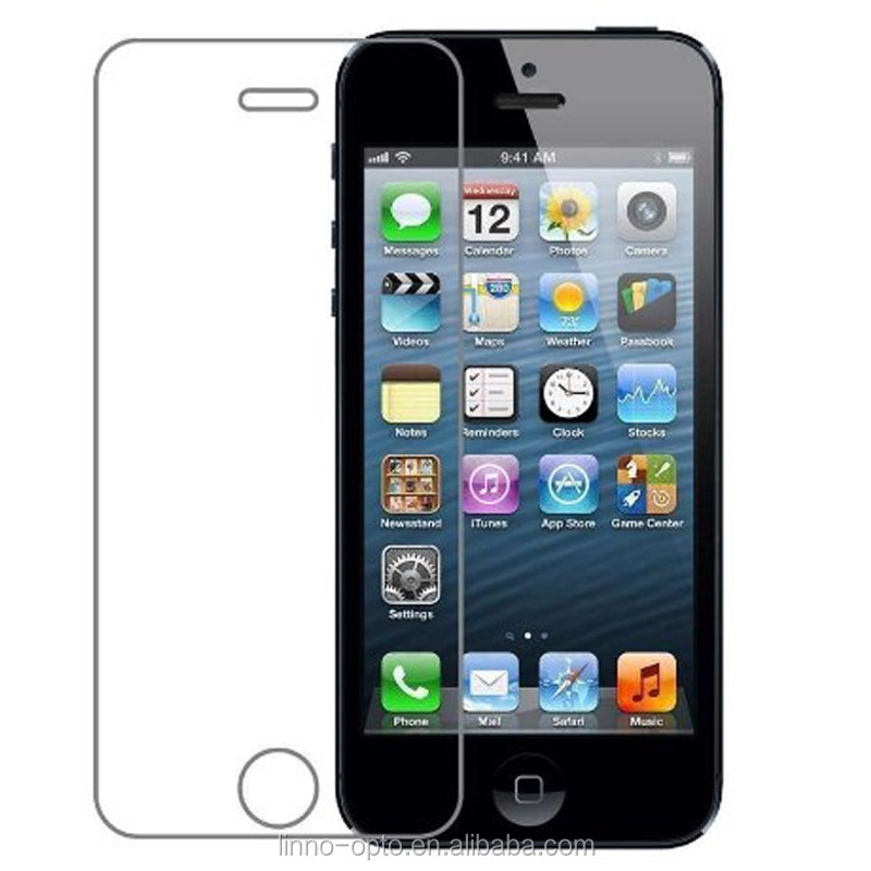 China manufacturer trade assurance service for iphone 5 5se 5C 5S tempered glass screen saver