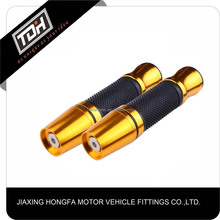 high quality gold fashion motorcycle handlebars motorcycle hand grip handlebar grips