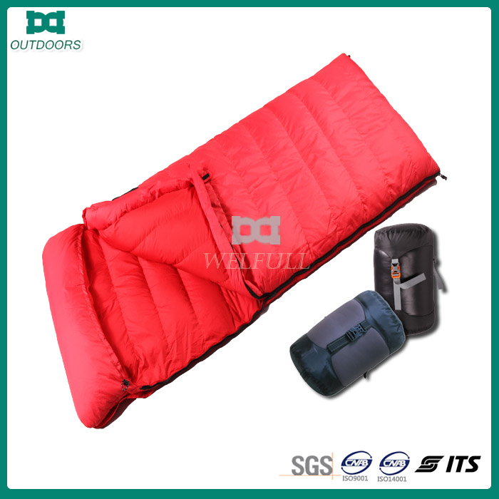 Outdoor camping envelope lovers sleeping bag