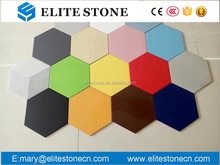 Different Types pure color solid color ceramic tile