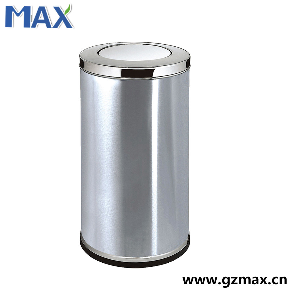Hotel stainless steel 20l waste recycling bin