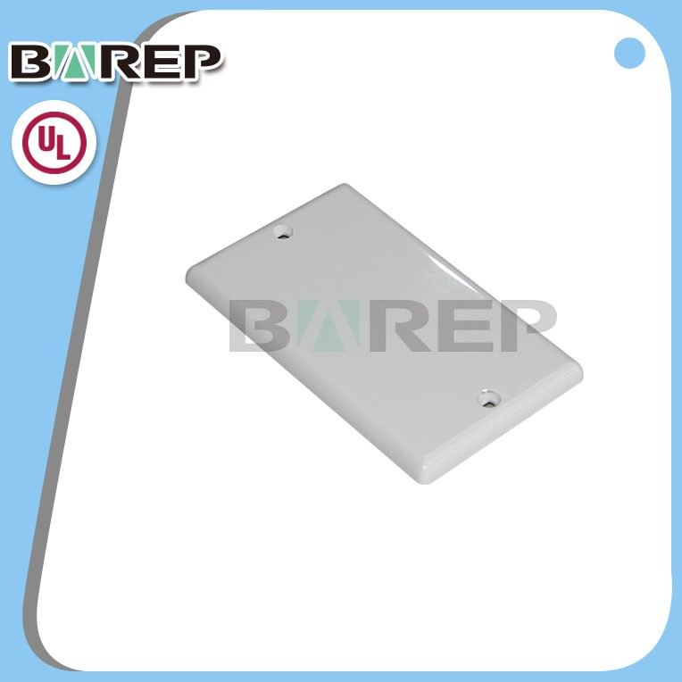 YGC-008 BAREP brand custom plastic blank electrical switch wall plate