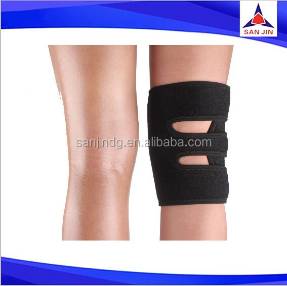 New Double Action Tennis Knee Patella Compression Support Knee Wrap Protector