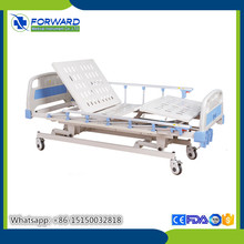 high quality hospital infusion pump hospital overbed table with drawer top selling three cranks manual hospital bed for